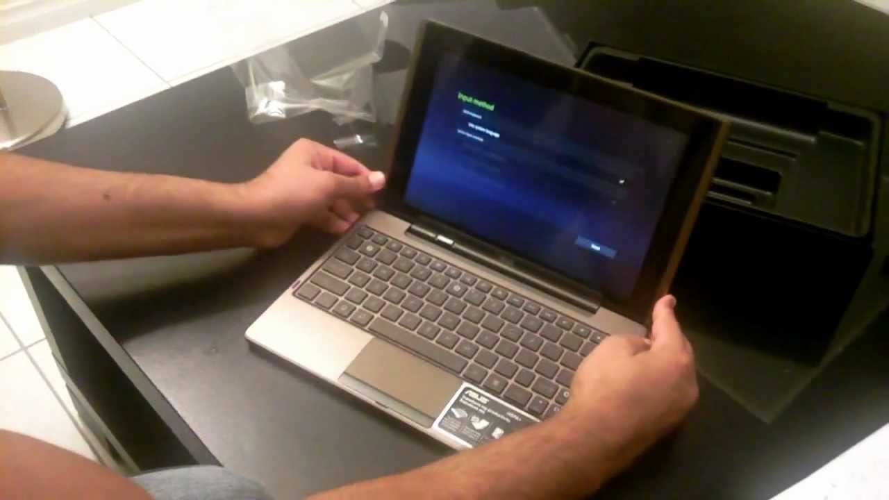 Asus Eee Pad Transformer TF101 - Unboxing