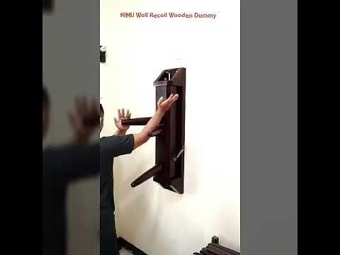 KIMU Recoil Wall Wooden Dummy