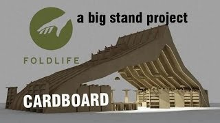 Foldlife Cardboard Stand Project Goteborg Gothenburg.wmv