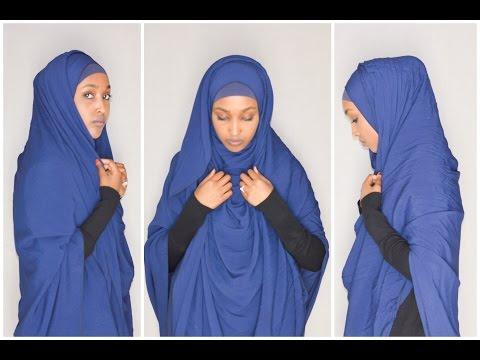 ♡ Comment Porter Le Voile Façon Jilbab!