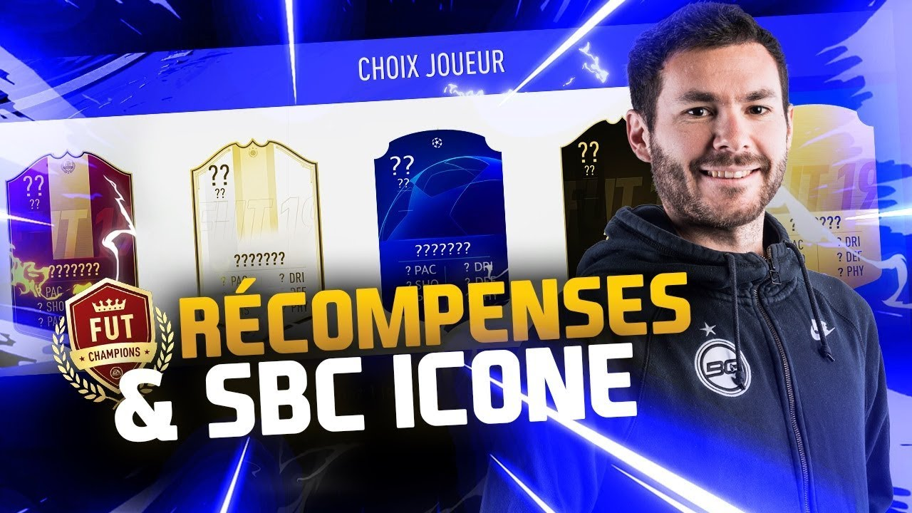 PACKS FUT CHAMPIONS & SBC ICONE !