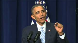 Obama delivers Affordable Care Act anniversary remarks