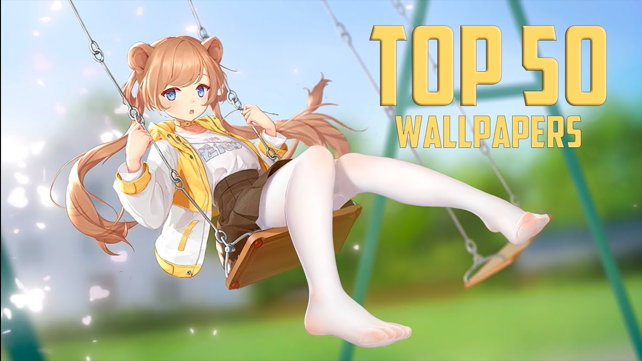TOP 50 ANIME WALLPAPERS FOR WALLPAPER ENGINE - YouTube
