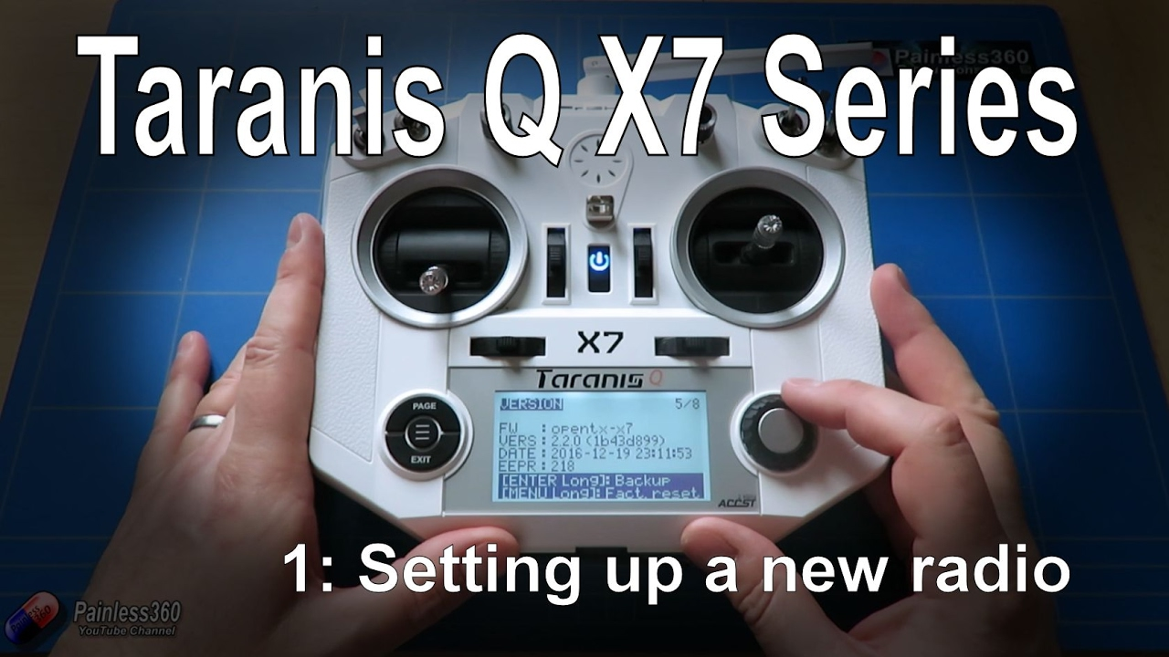 (1/1) Taranis Q X7 Radio: Tips for setting up a new radio (from  Banggood com)