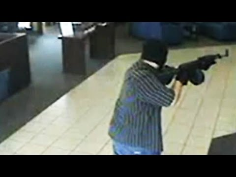 Manhunt Out West For Alleged Bank Robber Called AK47 Bandit