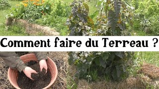 Comment faire du terreau ?