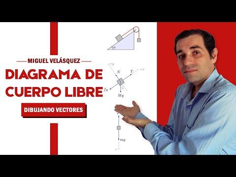 Diagrama de Cuerpo Libre   Cómo dibujar los vectores en el DCL   Estática y Dinámica