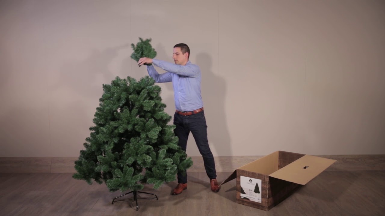 Everlands Christmas Tree Assembly Video Youtube
