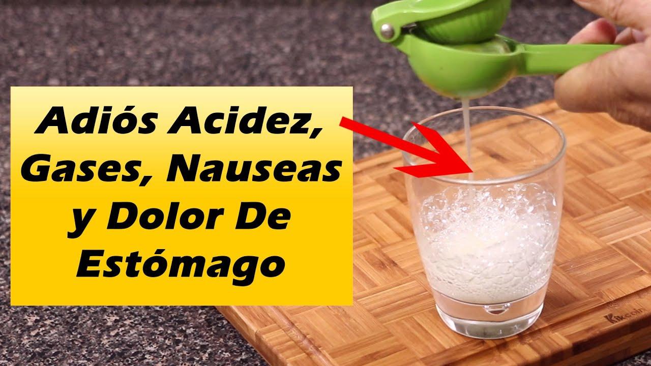 Bebe Esto y Los Gases, Acidez Estomacal, Nauseas y Dolor De Estómago DESAPARECEN EN MINUTOS
