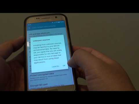 Samsung Galaxy S7: How to Install App From APK File