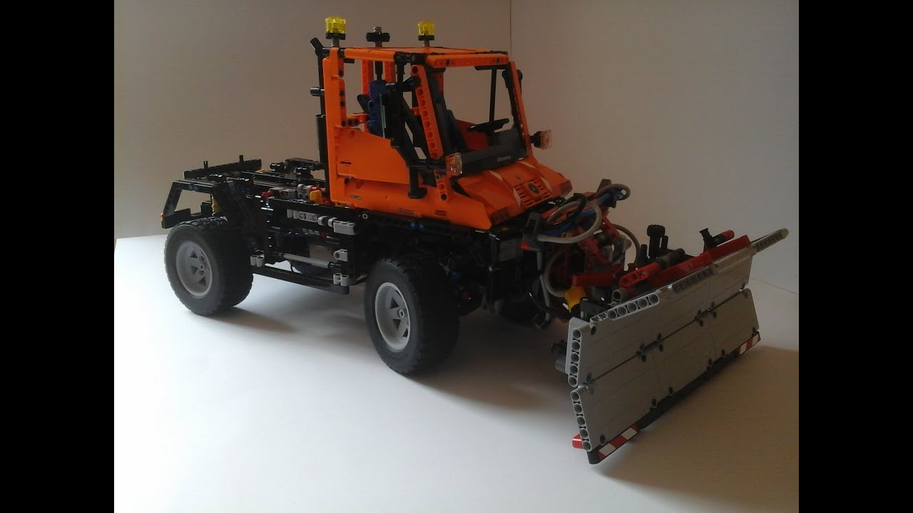 lego technic unimog u400 8110 b youtube. Black Bedroom Furniture Sets. Home Design Ideas