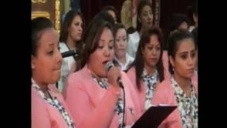 كورال الشهيدة دميانة  وعظة دكتور مجدى اسحق 11/12/2016