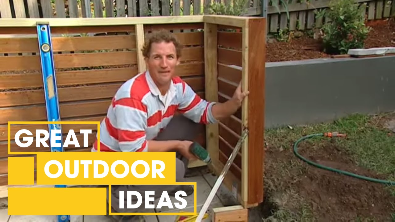How To Make Your Own Bin Storage Outdoor Great Home