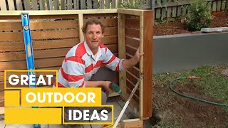 Better Homes and Gardens - DIY: bin storage