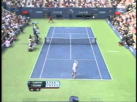 2011 US Open Men's Semifinal Djokovic VS Federer & Murray VS Nadal DVD - Tennis Express