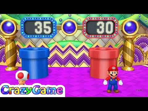 Mario Party 10 Coin Challenge #16 Toad vs Mario Gameplay