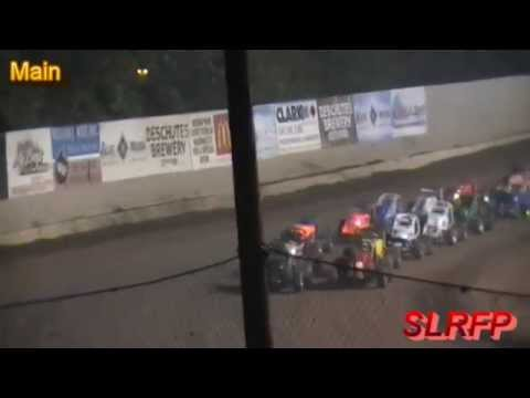 8 22 15 Cottage Grove Speedway Non wing Sprints Main