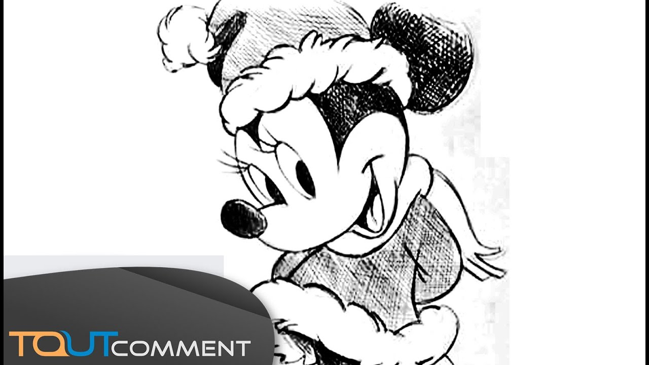 Dessiner Minnie Mouse Youtube