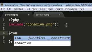 Como realizar conexion a Base de Datos Mysql mediante PHP | Conectar PHP con Mysql | FACILITO PHP 24