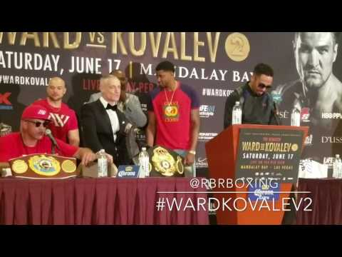 (Seriously?!) Virgil Hunter Wants Andre Ward to Fight Anthony Joshua