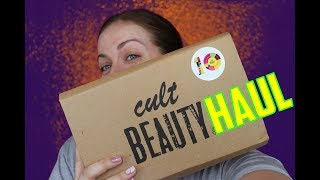I've got a Cult Beauty haul / cosmetic haul to share with you! (2018) | Claire Tutorials