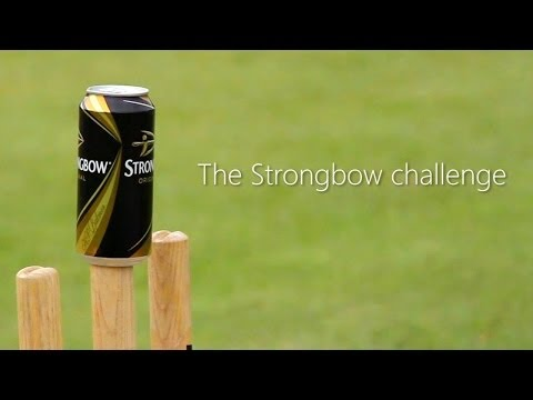 Jimmy Anderson   Strongbow Challenge