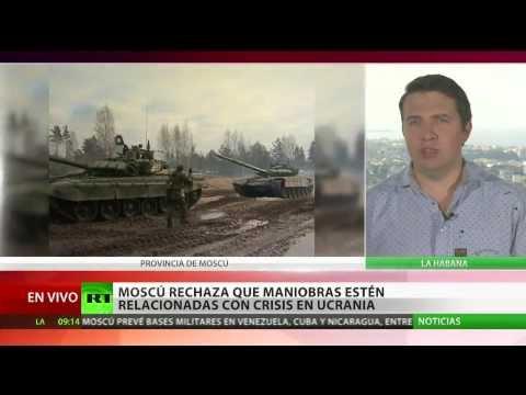 Rusia puede abrir bases militares en Venezuela, Nicaragua y Cuba