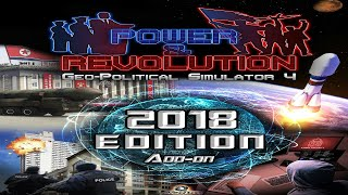 Power and Revolution (Geopolitical Simulator 4) 2018 EDITION Add-On News