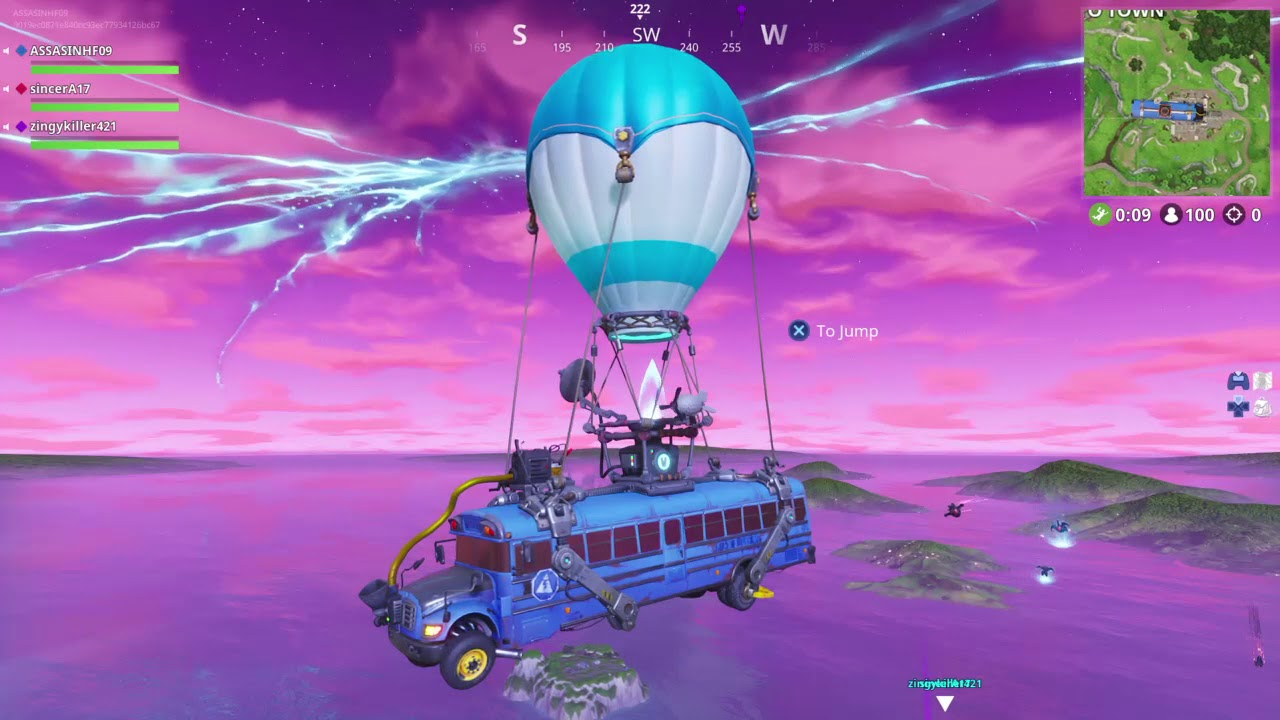 Fortnite The day of the rocket launch!! What changed ...