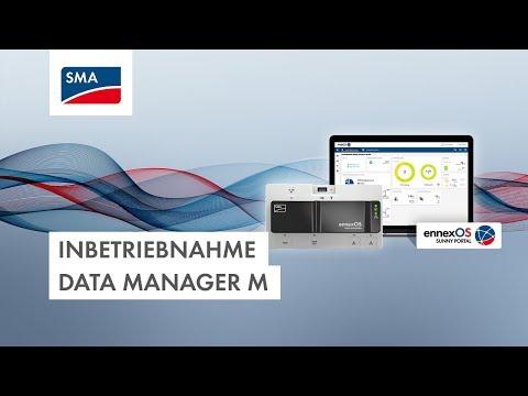 Inbetriebnahme Data Manager M (Screencast)