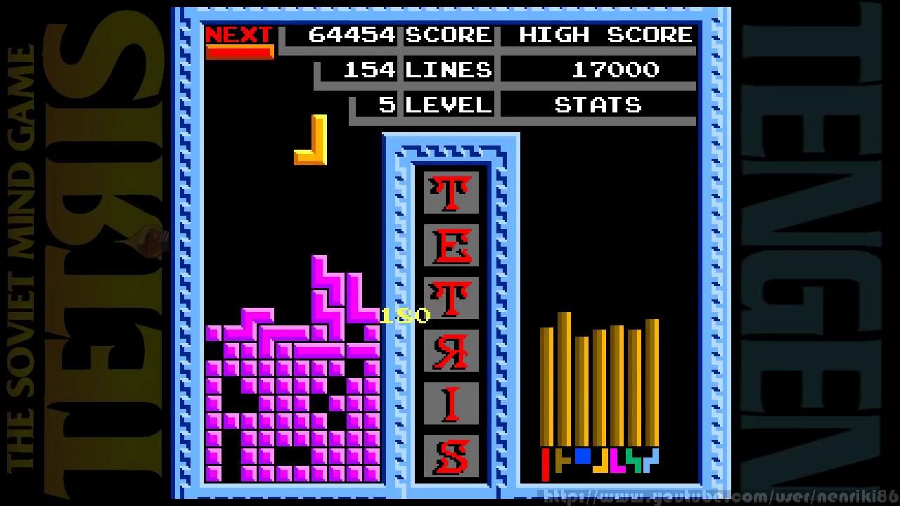 Tetris ( xếp hình cổ điển ) - Full game NES