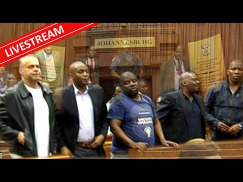 Radovan Krejcir and his five co-accused sentencing