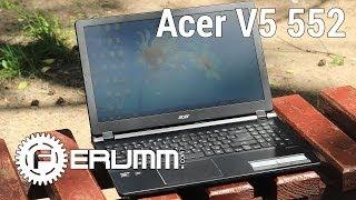 видео Ремонт ноутбука Acer Aspire V5-552