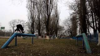 Роман Авдеенко.  Никополь, весна 2015.(Давно хотелось сделать видео с чистым перемещением, ради которого я и начал заниматься паркуром в далёком..., 2015-06-30T08:39:39.000Z)
