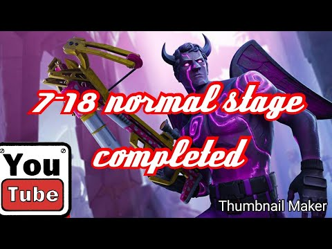 7-18 Normal Stage Completed (Lords Mobile )