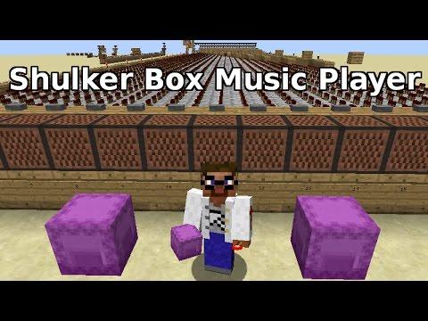 Minecraft 1.11 Shulker Box Music Player