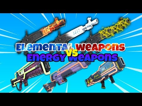 Element Weapons VS Energy Weapons WHAT TO USE? | Fortnite Save The World