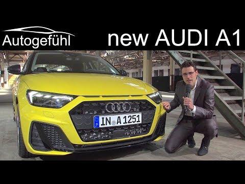 All-new Audi A1 Sportback REVIEW premiere 2019 - Autogefühl