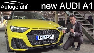 All-new Audi A1 Sportback REVIEW premiere 2019 - Autogefühl