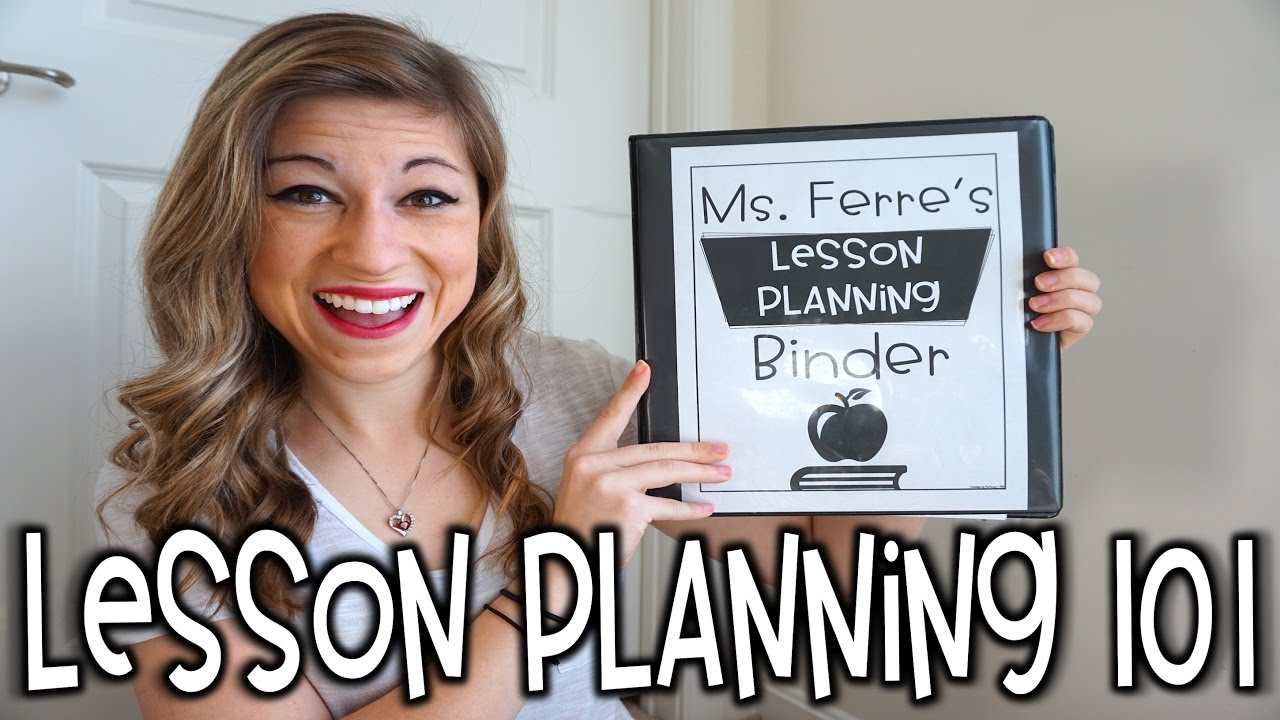 lesson planning 101 that teacher life ep 21 youtube