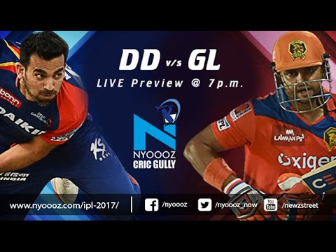 Live IPL T20 Delhi Daredevils vs The Gujarat Lions match preview only on Cric Gully