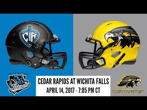 Week 9 | Cedar Rapids Titans at Wichita Falls Nighthawks