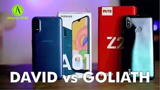 Mito Z2 bisa kalahkan Samsung Galaxy A01 ? ( versus Review )