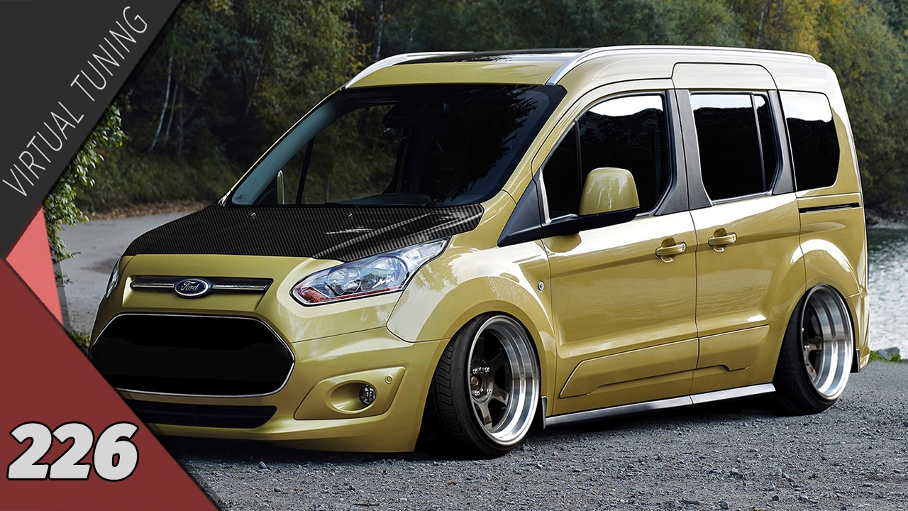 Virtual Tuning - Ford Transit Courier #226 - YouTube