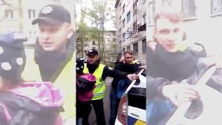 Кременчуг полиция с народом, это жесть!