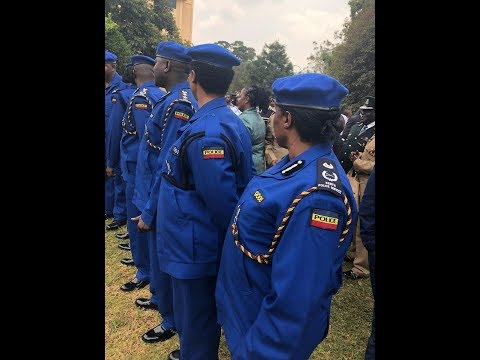 Police Get New Type Of Uniforms As President Uhuru Announces Sweeping Changes In Police Service