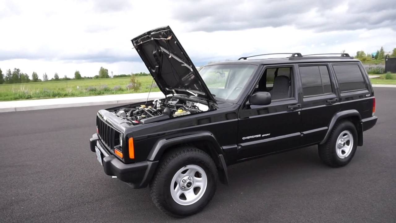 2001 Jeep Cherokee Sport 143,000 Mileage - YouTube