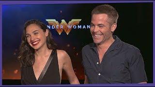Entrevista Elenco Mujer Maravilla: Gal Gadot, Chris Pine...