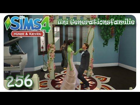 Freya und Luka sagen: JA! #256 Die Sims 4: Uni Generationsfamilie - Let's Play