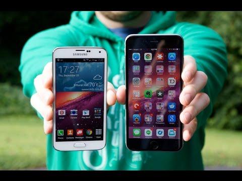iPhone 6 Plus vs Samsung Galaxy S5